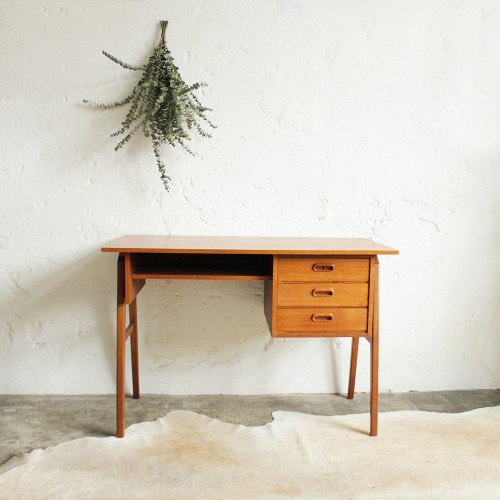 Bureau-teck-scandinave-vintage-H300_a