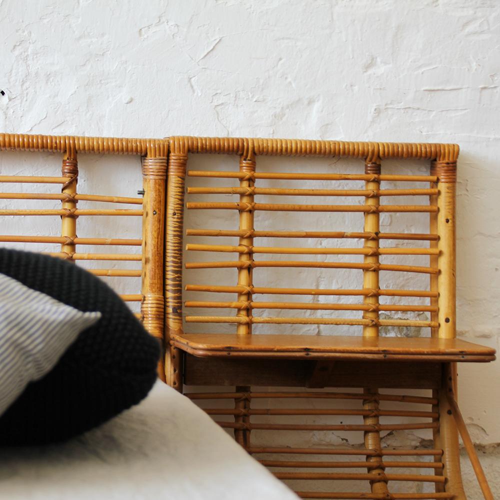 lit enfant rotin ancien atelier du petit parc. Black Bedroom Furniture Sets. Home Design Ideas