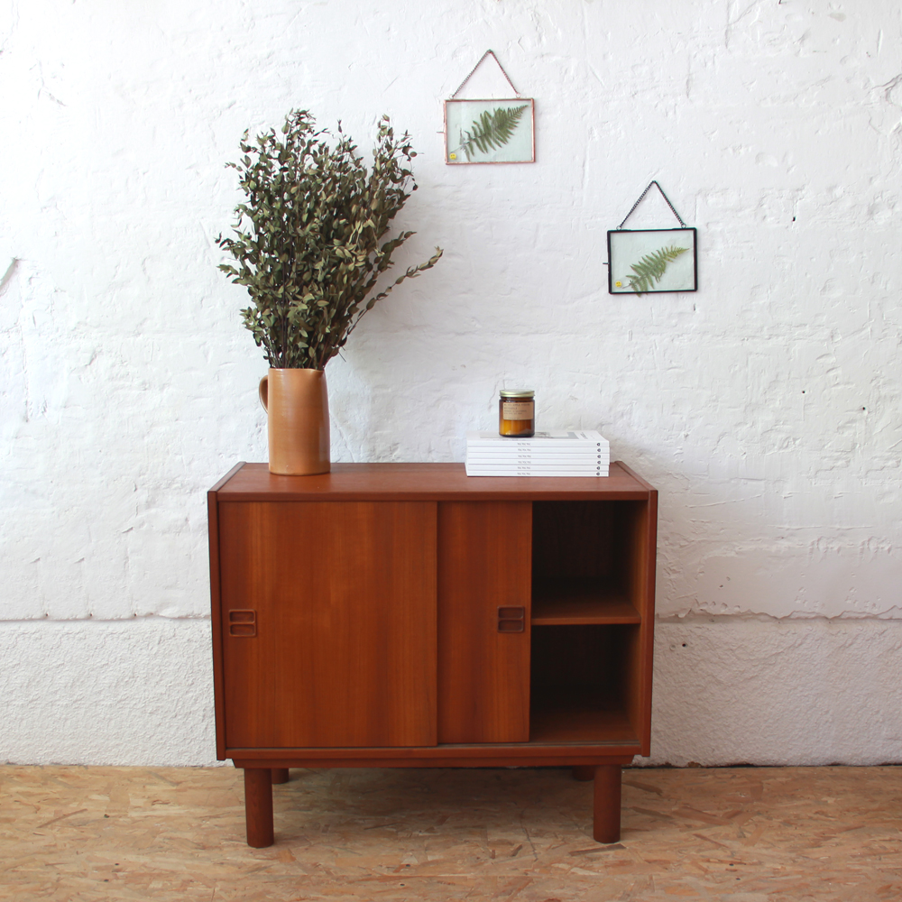 enfilade scandinave vintage danoise portes coulissantes h467 b atelier du petit parc. Black Bedroom Furniture Sets. Home Design Ideas