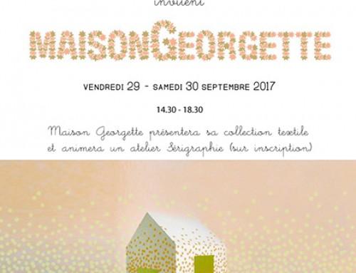 VENTE ÉPHÉMÈRE MAISON GEORGETTE