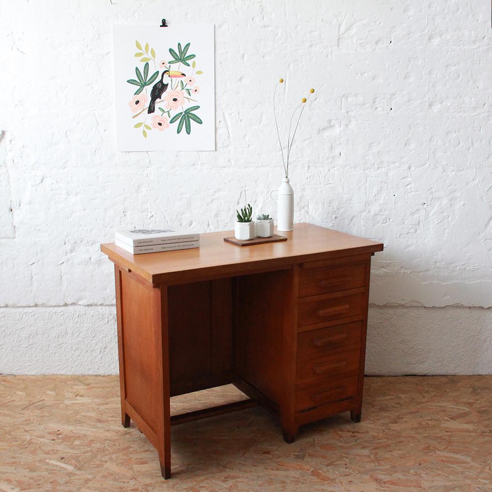 bureau vintage comptable ministre atelier du petit parc. Black Bedroom Furniture Sets. Home Design Ideas