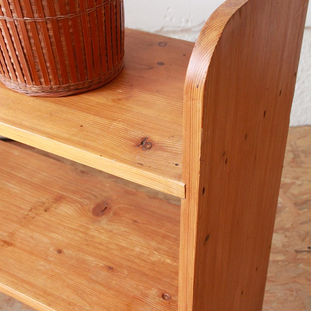 biblioth que bois vintage atelier du petit parc. Black Bedroom Furniture Sets. Home Design Ideas