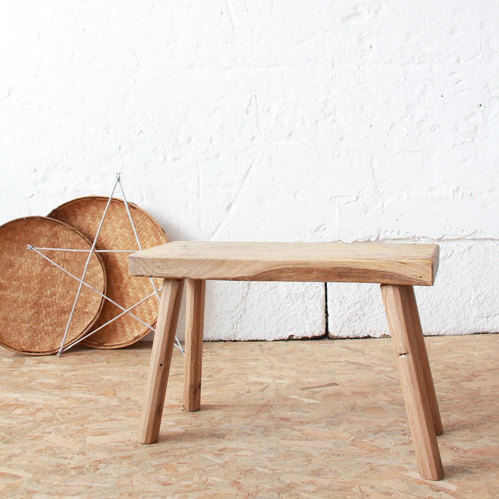 banc ch ne wabi sabi france atelier du petit parc. Black Bedroom Furniture Sets. Home Design Ideas