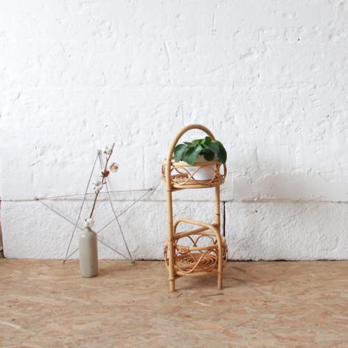 Lit rotin vintage forme soleil atelier du petit parc - Tete de lit porte ...