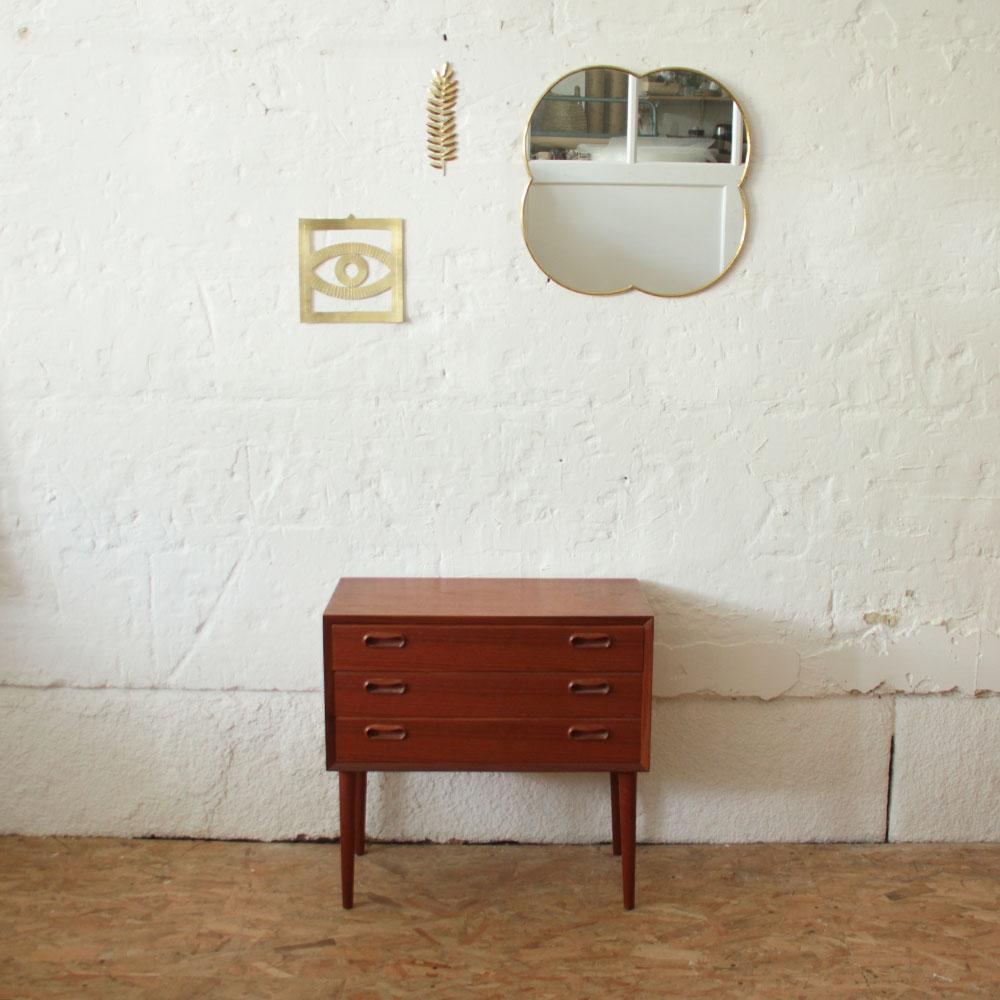 Commode Petite Profondeur 30 Cm commode teck danoise vintage | atelier du petit parc